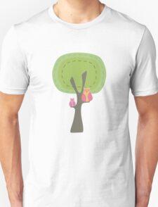 Mumma & Baby Owl Sittin in a Tree. T-Shirt