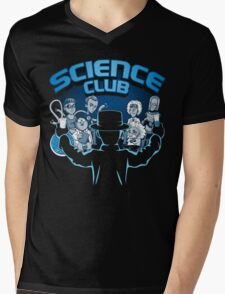 Science Club Mens V-Neck T-Shirt