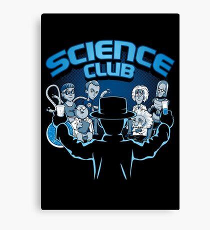 Science Club Canvas Print