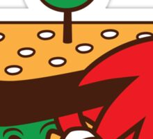 KNUCKLES SANDWICH Sticker