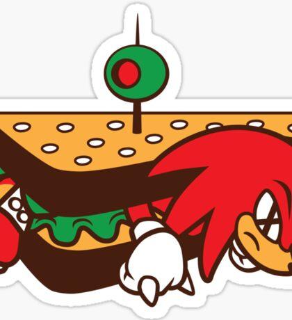 KNUCKLES SANDWICH Sticker