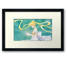 Princess Serenity - Sailor Moon Crystal Framed Print