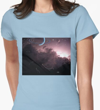 after the storm Womens Fitted T-Shirt