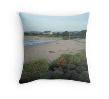 Beach Bum - Ballycastle, No. Ireland Throw Pillow