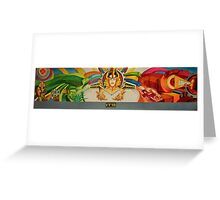 IMAGE FOR MURAL WITH COLOR TILES Greeting Card