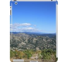 Olympic Park Undulating hills in the blue sky landscape picture. iPad Case/Skin