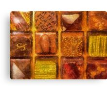 Candy - Excellent Chocolates Canvas Print