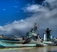 HMS Belfast by Tim Hall