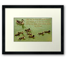 Mother ~ Part Two Framed Print