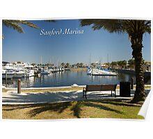 Sanford Marina Poster