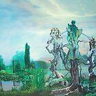 """""""Cosmic Petunias"""" by James McCarthy"""