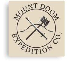 Mount Doom Expedition Co. Canvas Print