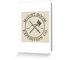 Mount Doom Expedition Co. Greeting Card