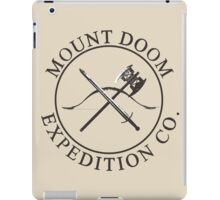 Mount Doom Expedition Co. iPad Case/Skin