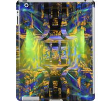 Colorful Psychedelic Abstract Fractal Art iPad Case/Skin