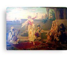 ancient print Canvas Print