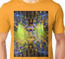 Colorful Psychedelic Abstract Fractal Art Unisex T-Shirt