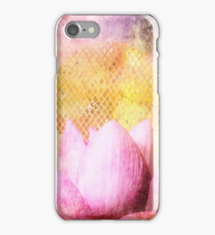 Lotus Sun iPhone Case/Skin