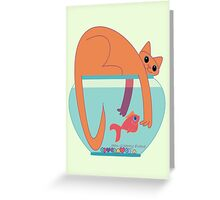 If I Could, I'd Give You A Hug Greeting Card