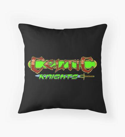 Celtic Knights logo Throw Pillow