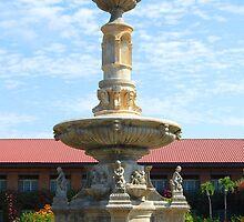 Fort Ilocandia Resort fountain (closer look) by walterericsy