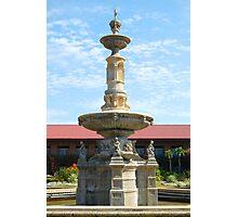 Fort Ilocandia Resort fountain (closer look) Photographic Print