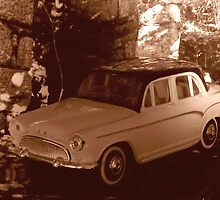 old car sepia  by seccotine