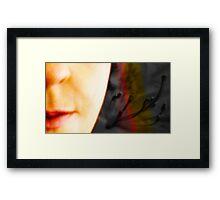 HALF & HALF Framed Print