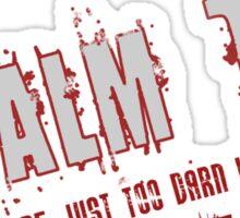 Psalm 151 Band Sticker