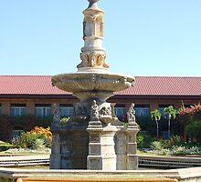 Fort Ilocandia Resort Fountain in Ilocos Norte, Philippines by walterericsy