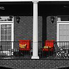 Red Chairs, Take 2 by ericb