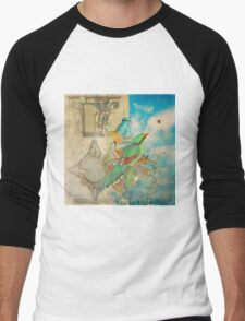 The Birds and The Bees Men's Baseball ¾ T-Shirt
