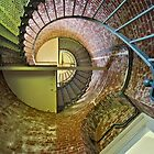 Inside Cape Blanco Lighthouse by Bryan Peterson