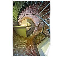 Inside Cape Blanco Lighthouse Poster