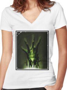 Left 4 Dead Women's Fitted V-Neck T-Shirt