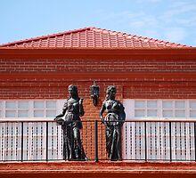 Fort Ilocandia Resort, Ilocos Norte, Philippines Exterior Statue by walterericsy