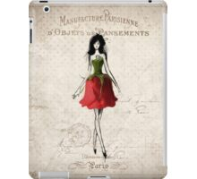Lady in Red (Rose) iPad Case/Skin