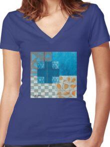 Infatuation Women's Fitted V-Neck T-Shirt