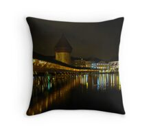 Lucerne Night Beauty Throw Pillow