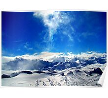 Above The Alps Poster