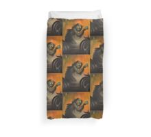 Creature (from the Black Lagoon) Duvet Cover