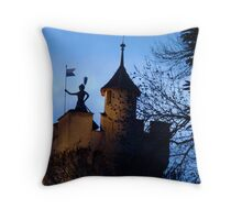 Defender of Lucerne Throw Pillow