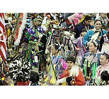 Blackfoot Dancers Photographic Print