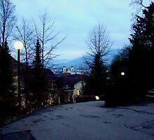 Beautiful Evening In Lucerne by Al Bourassa