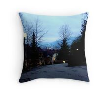 Beautiful Evening In Lucerne Throw Pillow