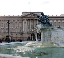 Buckingham Palace by Audrey Clarke