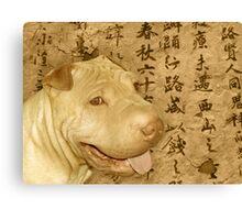 Chinese Shar Pei Canvas Print