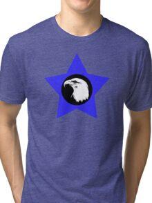 Bald Eagle (White) T-Shirt Tri-blend T-Shirt