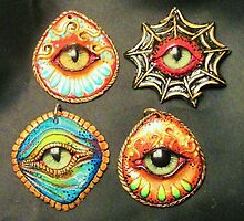 The eyes have it pendants by mystapring
