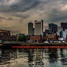 Blue sunrise in Boston, MA by LudaNayvelt